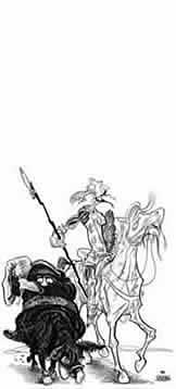 Oliver Schopf, editorial cartoons from Austria, cartoonist from Austria, Austrian illustrations illustrator from Austria editorial cartoon artwork and illustration don quichote
